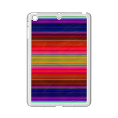 Fiesta Stripe Colorful Neon Background Ipad Mini 2 Enamel Coated Cases