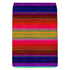 Fiesta Stripe Colorful Neon Background Flap Covers (s)