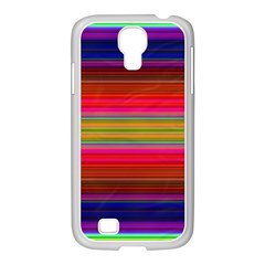 Fiesta Stripe Colorful Neon Background Samsung Galaxy S4 I9500/ I9505 Case (white)