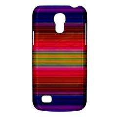 Fiesta Stripe Colorful Neon Background Galaxy S4 Mini