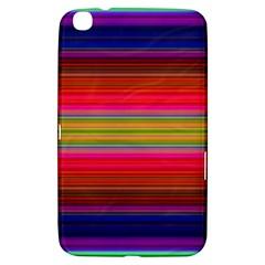 Fiesta Stripe Colorful Neon Background Samsung Galaxy Tab 3 (8 ) T3100 Hardshell Case