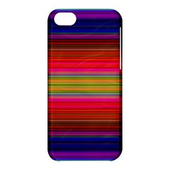 Fiesta Stripe Colorful Neon Background Apple Iphone 5c Hardshell Case