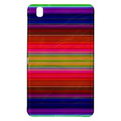 Fiesta Stripe Colorful Neon Background Samsung Galaxy Tab Pro 8 4 Hardshell Case