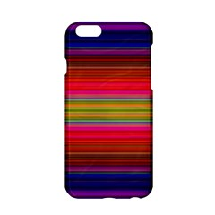 Fiesta Stripe Colorful Neon Background Apple Iphone 6/6s Hardshell Case