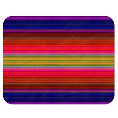 Fiesta Stripe Colorful Neon Background Double Sided Flano Blanket (medium)