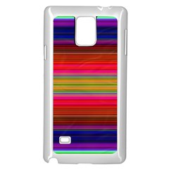 Fiesta Stripe Colorful Neon Background Samsung Galaxy Note 4 Case (white)