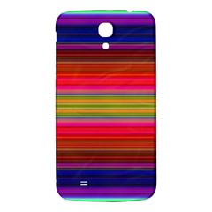 Fiesta Stripe Colorful Neon Background Samsung Galaxy Mega I9200 Hardshell Back Case