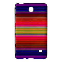 Fiesta Stripe Colorful Neon Background Samsung Galaxy Tab 4 (8 ) Hardshell Case