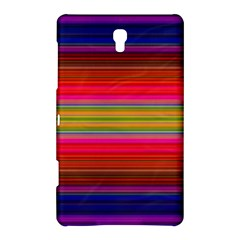 Fiesta Stripe Colorful Neon Background Samsung Galaxy Tab S (8 4 ) Hardshell Case