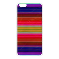 Fiesta Stripe Colorful Neon Background Apple Seamless iPhone 6 Plus/6S Plus Case (Transparent)