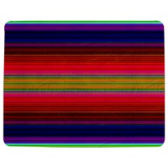 Fiesta Stripe Colorful Neon Background Jigsaw Puzzle Photo Stand (Rectangular)