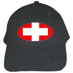 Flag Of Switzerland Black Cap
