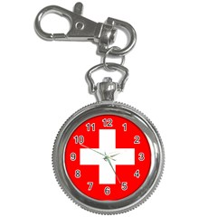 Flag Of Switzerland Key Chain Watches