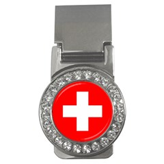 Flag Of Switzerland Money Clips (cz)