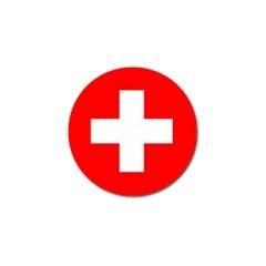 Flag Of Switzerland Golf Ball Marker (10 Pack)