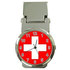 Flag Of Switzerland Money Clip Watches