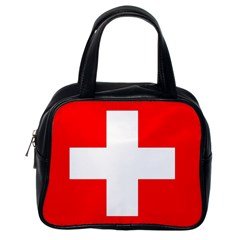 Flag Of Switzerland Classic Handbags (one Side)