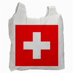 Flag Of Switzerland Recycle Bag (one Side)