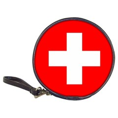 Flag Of Switzerland Classic 20 Cd Wallets