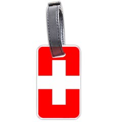 Flag Of Switzerland Luggage Tags (Two Sides)