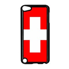 Flag Of Switzerland Apple Ipod Touch 5 Case (black)