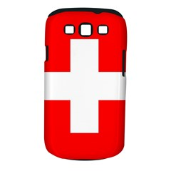 Flag Of Switzerland Samsung Galaxy S Iii Classic Hardshell Case (pc+silicone)