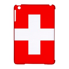 Flag Of Switzerland Apple Ipad Mini Hardshell Case (compatible With Smart Cover)