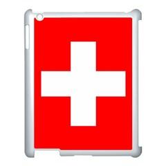 Flag Of Switzerland Apple Ipad 3/4 Case (white)