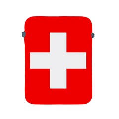 Flag Of Switzerland Apple Ipad 2/3/4 Protective Soft Cases