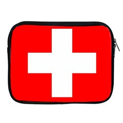 Flag Of Switzerland Apple Ipad 2/3/4 Zipper Cases