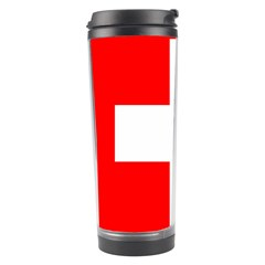 Flag Of Switzerland Travel Tumbler