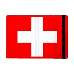 Flag Of Switzerland Ipad Mini 2 Flip Cases