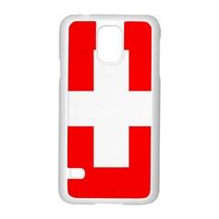 Flag Of Switzerland Samsung Galaxy S5 Case (white)