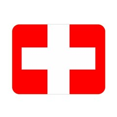 Flag Of Switzerland Double Sided Flano Blanket (mini)