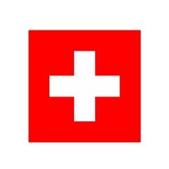 Flag Of Switzerland Satin Bandana Scarf