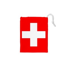 Flag Of Switzerland Drawstring Pouches (xs)