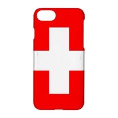 Flag Of Switzerland Apple Iphone 7 Hardshell Case
