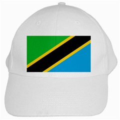 Flag Of Tanzania White Cap