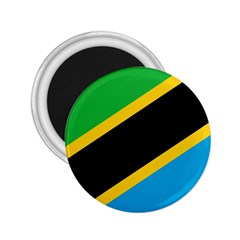 Flag Of Tanzania 2 25  Magnets