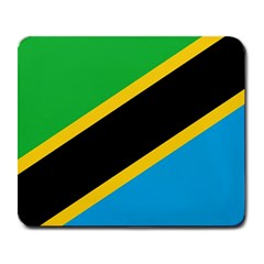 Flag Of Tanzania Large Mousepads