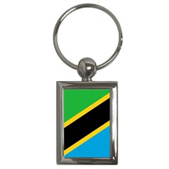 Flag Of Tanzania Key Chains (rectangle)