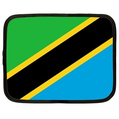 Flag Of Tanzania Netbook Case (large)