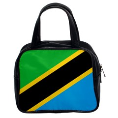 Flag Of Tanzania Classic Handbags (2 Sides)