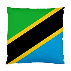Flag Of Tanzania Standard Cushion Case (two Sides)