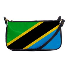 Flag Of Tanzania Shoulder Clutch Bags