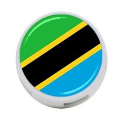 Flag Of Tanzania 4 Port Usb Hub (two Sides)