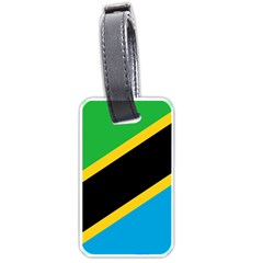 Flag Of Tanzania Luggage Tags (two Sides)