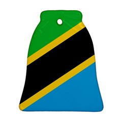 Flag Of Tanzania Bell Ornament (two Sides)