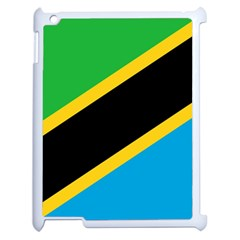 Flag Of Tanzania Apple Ipad 2 Case (white)
