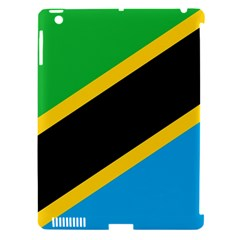 Flag Of Tanzania Apple Ipad 3/4 Hardshell Case (compatible With Smart Cover)